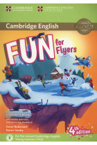 Купить - Книги - Fun for Flyers. Students Book with Online Activities with Audio and Home Fun. Booklet 6