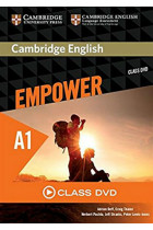 Купить - Книги - Cambridge English Empower A1 Starter Class DVD