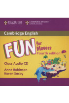 Купить - Книги - Fun for Movers Class Audio CD