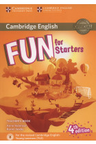 Купить - Книги - Fun for Starters. Teacher's Book with Downloadable Audio