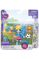 Купить - Игрушки, творчество - Кукла Hasbro Equestria Girls Rainbow Dash School Pep Rally Set (B4909_B8025)