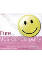Купить - Музыка - Сборник: Pure... 90's Dance Party. 4 CD's of the Greatest 90's Party Music