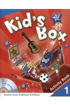 Купить - Книги - Kid's Box 1. Activity Book (+ CD-ROM)
