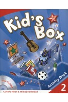 Купить - Книги - Kid's Box 2. Activity Book (+ CD-ROM)
