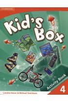 Купить - Книги - Kid's Box 4. Activity Book