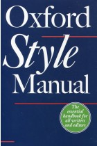 Купить - Книги - The Oxford Style Manual