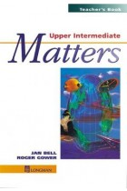 Купить - Книги - Upper Intermediate Matters. Teachers' Book
