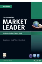 Купить - Книги - Market Leader Pre-Intermediate Coursebook (+ DVD)