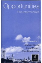 Купить - Книги - Opportunities Pre-intermediate Class Cassette Set
