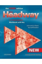 Купить - Книги - New Headway Pre-Intermediate. Workbook (With Key)