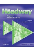 Купить - Книги - New Headway Beginner. Workbook (with Key)