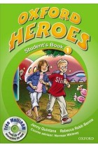Купить - Книги - Oxford Heroes 1. Student's Book Pack (+ CD-ROM)