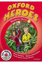 Купить - Книги - Oxford Heroes 2. Student's Book Pack (+ CD-ROM)