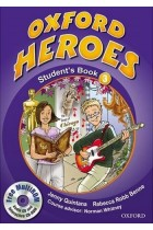 Купить - Книги - Oxford Heroes 3. Student's Book Pack (+ CD-ROM)
