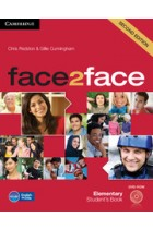 Купить - Книги - Face2face. Elementary Student's Book with DVD