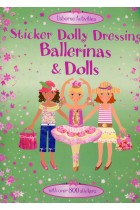 Купить - Книги - Sticker Dolly Dressing. Dolls and Ballerinas