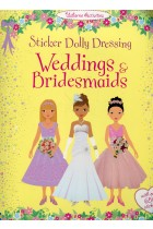 Купить - Книги - Sticker Dolly Dressing. Weddings and Bridesmaids
