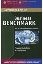 Купить - Книги - Business Benchmark Pre-intermediate to Intermediate Personal Study Book