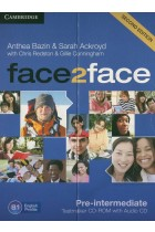 Купить - Книги - Face2face. Pre-intermediate Testmaker CD-ROM and Audio CD