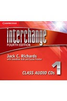 Купить - Книги - Interchange Level 1 Class Audio CDs (3 CD)