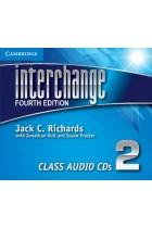Купить - Книги - Interchange Level 2 Class Audio CDs (3 CD)
