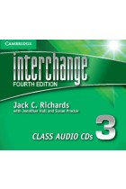 Купить - Книги - Interchange Level 3 Class Audio CDs (3 CD)