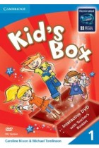 Купить - Книги - Kid's Box Level 1 DVD with Teacher's Booklet