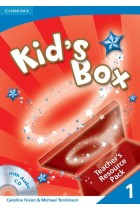 Купить - Книги - Kid's Box 1 Teacher's Resource Pack with Audio CD