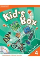 Купить - Книги - Kid's Box Level 4 Activity Book with CD-ROM