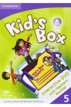 Купить - Книги - Kid's Box Level 5 Interactive DVD with Teacher's Booklet