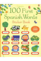 Купить - Книги - 100 First Spanish Words Sticker Book