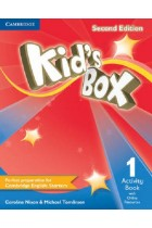 Купить - Книги - Kid's Box Level 1 Activity Book with Online Resources: Level 1