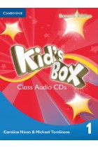 Купить - Книги - Kid's Box Level 1 Class Audio CDs