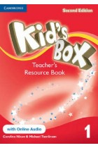 Купить - Книги - Kid's Box Level 1 Teacher's Resource Book with Online Audio