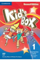 Купить - Книги - Kid's Box Level 1 Interactive DVD (NTSC) with Teacher's Booklet: Level 1