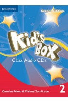 Купить - Книги - Kid's Box Level 2 Class Audio CDs
