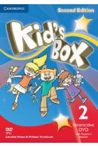 Купить - Книги - Kid's Box Level 2 Interactive DVD (NTSC) with Teacher's Booklet: Level 2