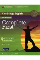 Купить - Книги - Complete First Student's Book with Answers with CD-ROM