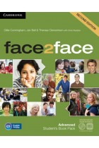 Купить - Книги - face2face Advanced Student's Book with Online Workbook Pack (+ DVD-ROM)