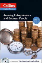 Купить - Книги - Amazing Entrepreneurs & Business People. Level 1 (+ MP3)