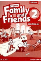 Купить - Книги - Family&Friends 2. Workbook for Ukraine