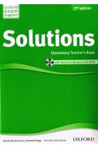 Купить - Книги - Solutions. Elementary. Teacher's Book (+CD Pack)
