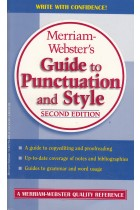 Купить - Книги - Merriam-Webster's Guide To Punctuation and Style