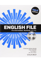 Купить - Книги - English File. Pre-Intermediate. Workbook with Key and Ichecker