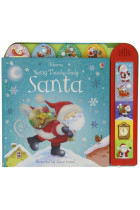 Купить - Книги - Usborne Noisy Touchy-Feely Santa