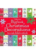Купить - Книги - Big Book of Christmas Decorations to Cut, Fold & Stick