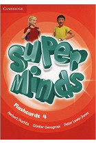 Купить - Книги - Super Minds 4 Flashcards (Pack of 83)