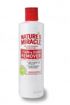 Купить - Зоотовары - Устранитель пятен и запахов котов 8in1 Nature's Miracle Stain & Odor Remover 473 мл (680199/5155USA)