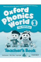 Купить - Книги - Oxford Phonics World 1 Teacher's Book: The Alphabet