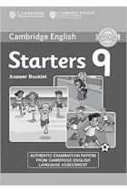 Купить - Книги - Cambridge English Young Learners 9 Starters Answer Booklet: Authentic Examination Papers from Cambridge English Language Assessment